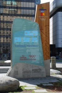 Winter Olympics countdown timer