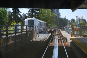 Vancouver driverless suburban train