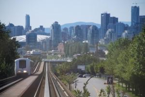 Vancouver driverless suburban train
