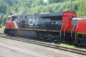 Canadian National Locomotive